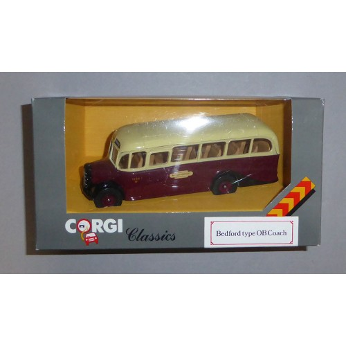 Corgi Classics 'British Railways' Bedford OB Coach Boxed D949/31