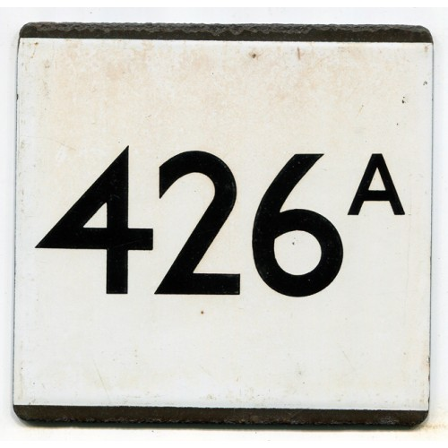 London Transport Country Area Route 426A Bus Stop 'e' Plate