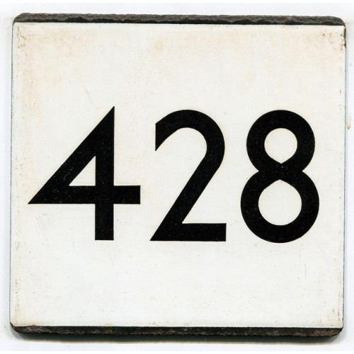 London Transport Country Area Route 428 Bus Stop 'e' Plate