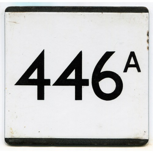 London Transport Country Area Route 446A Bus Stop 'e' Plate