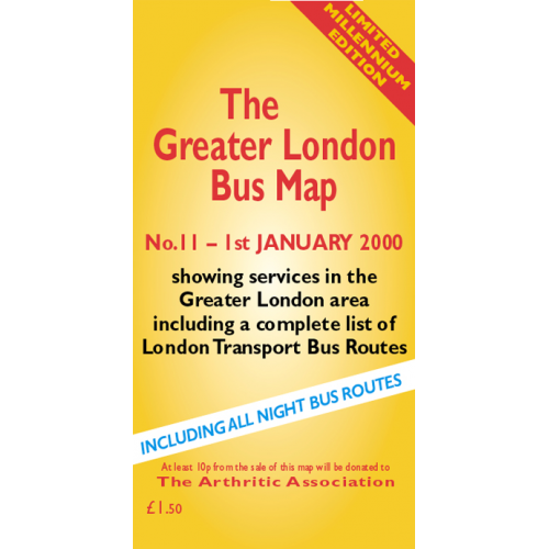 The Greater London Bus Map 11 - Printed Version