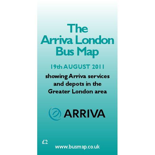 Arriva London Bus Map 2011 - Digital Download Version