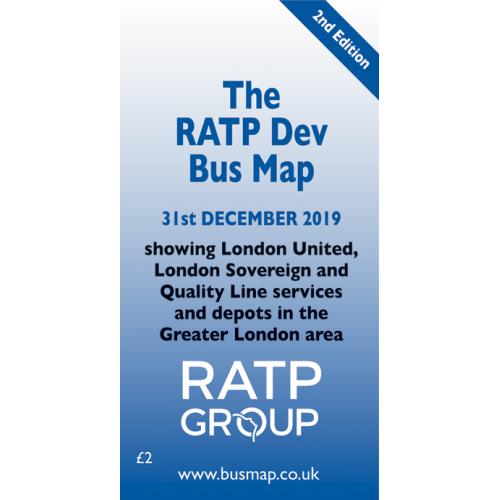 RATP Dev Bus Map 2019 - Digital Download Version