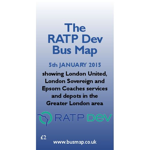 RATP Dev Bus Map 2015 - Digital Download Version